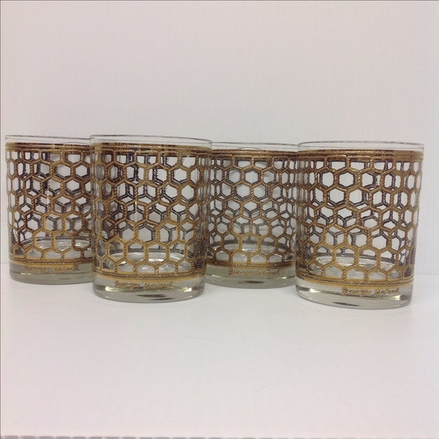 Image of Georges Briard Mid-Century Glasses - Set of 4