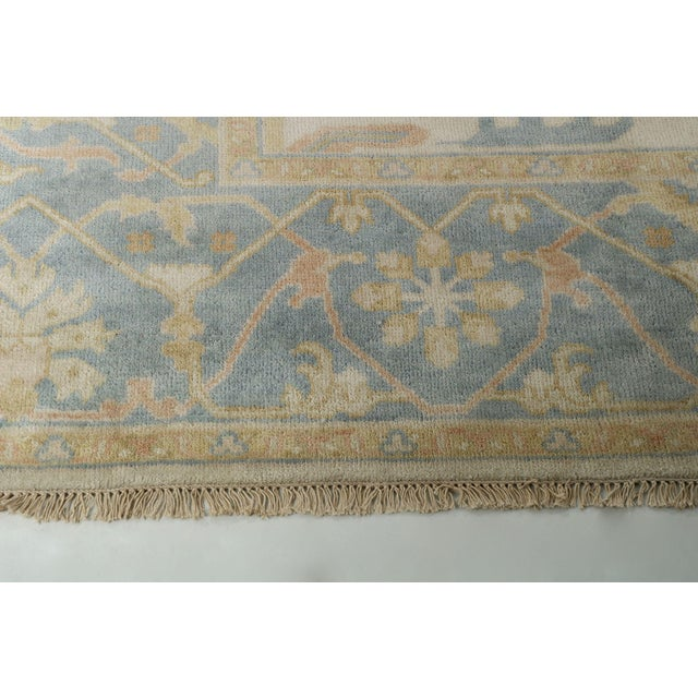 Traditional Turkish Anatolian Oushak Style Room Size Rug