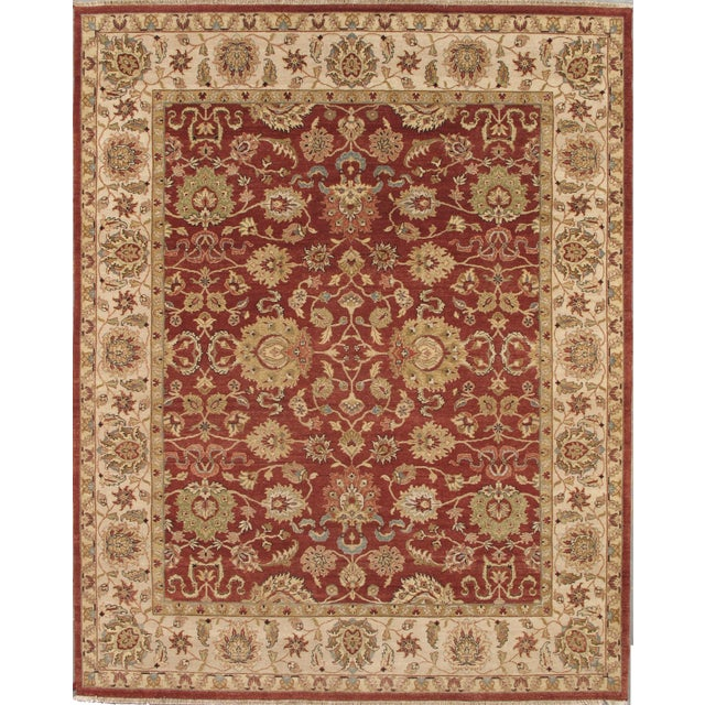 """Pasargad Agra Collection Rug - 7'11"""" X 9'11"""" - Image 1 of 2"""