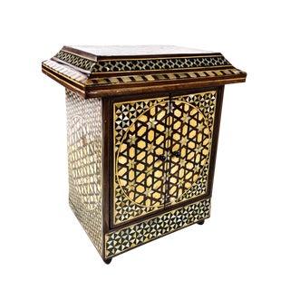 Antique Syrian Jewelry Box
