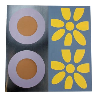 Targets and Daisies Artist's Proof Silkscreen by Peter Gee