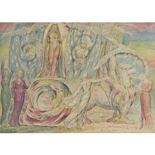 "W. Blake ""Beatrice Addressing Dante"" Lithograph"