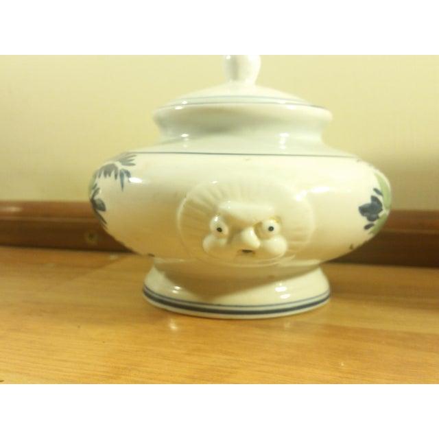 Pink Floral Ceramic Serving Set - Image 5 of 5