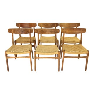 Hans Wegner Ch23 Chairs - Set of 6