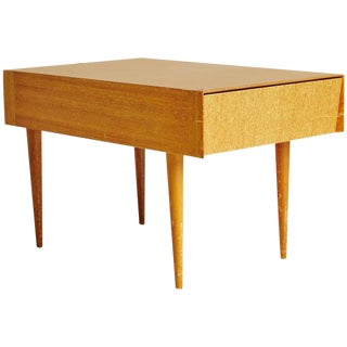 Paul Laszlo for Brown Saltman Light Ribbon Mahogany Side Table