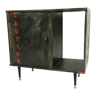 Industrial Media Cabinet With One Door