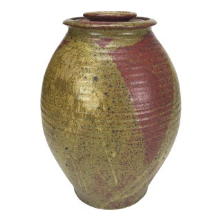 Lidded Stoneware Jar, produced at the Archie Bray Foundation, 1958-64