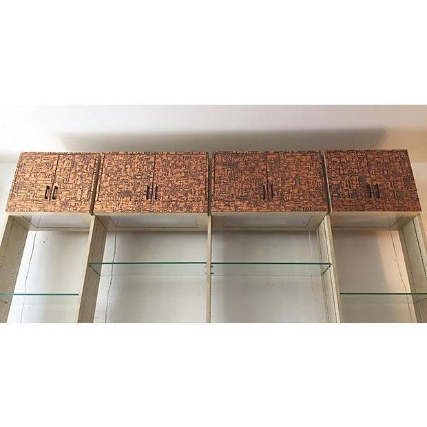 Brutalist Bookcase Wall Unit - Set of 4 - Image 5 of 8