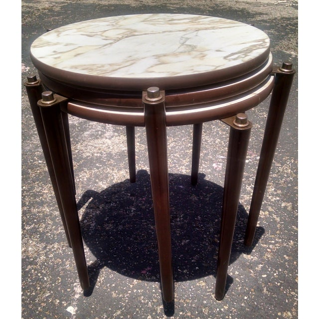 Vintage Mid-Century Nesting Tables - Set of 3 - Image 2 of 8