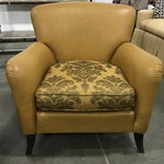 Image of Leathercraft Tan Chairs - A Pair