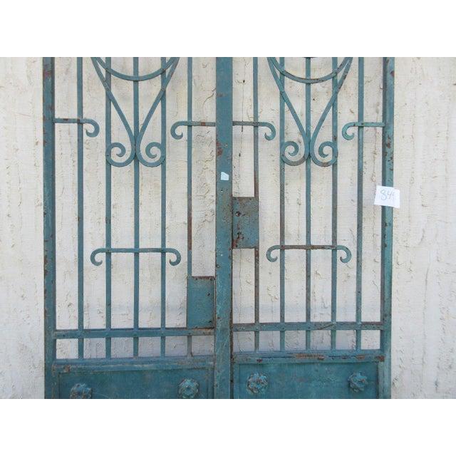 Antique Victorian Iron Gates - A Pair - Image 3 of 8