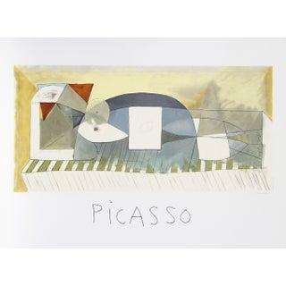 Pablo Picasso - Femme Allongee Estate Lithograph