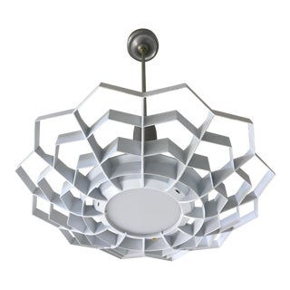 1950s Snowflake Pendant Light