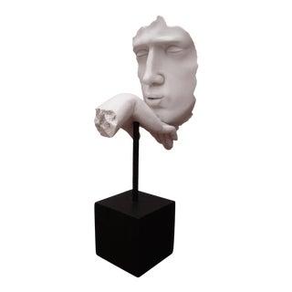 Modernist Abstract Kiss Hand Sculpture