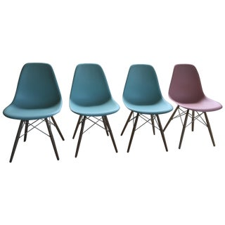 Eames Molded Plastic Chair - Set of 4