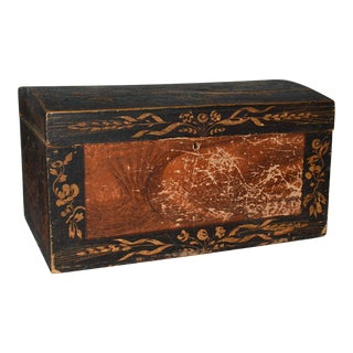 French Provincial Folk Art Box