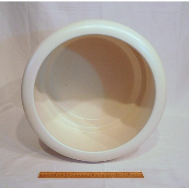 American California Pottery Modern Ceramic Planter - Image 9 of 10