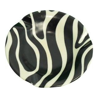 El Morocco Zebra Striped Ashtray