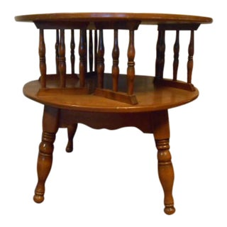 Ethan Allen Rotating End Table