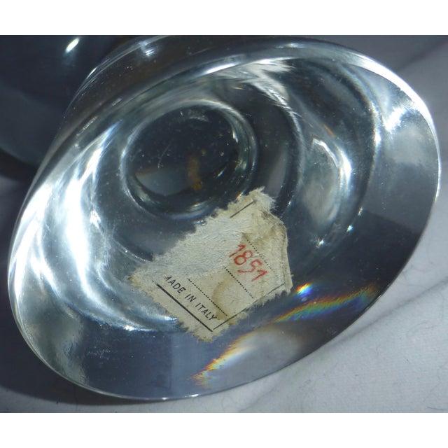 Mid-Century Modern Murano Glass Crystal Ball - Image 7 of 7