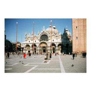 St. Mark's Square Venice Italy Vintage Film Photograph