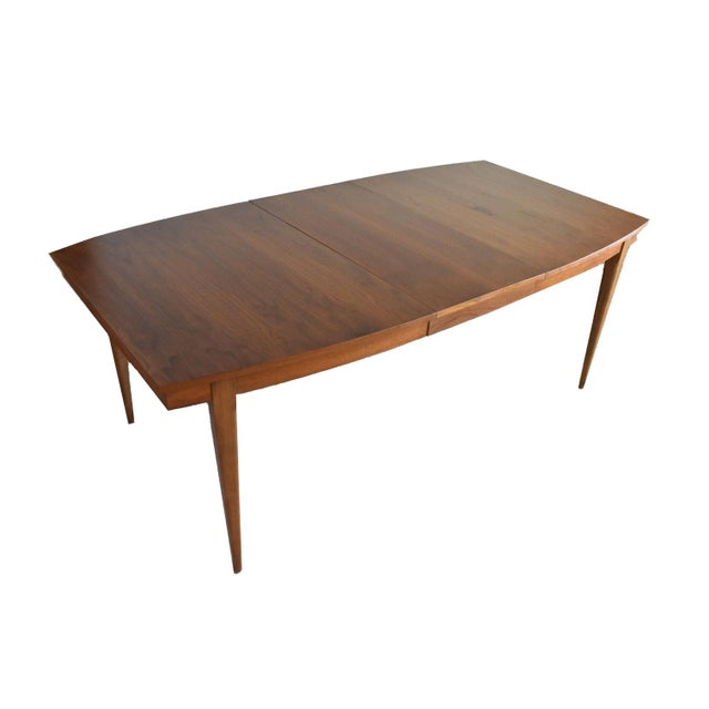Mid-Century Modern Walnut Dining Table -Refinished