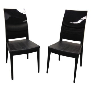 Ressetto Swarovski Dining Chairs - Set of Four