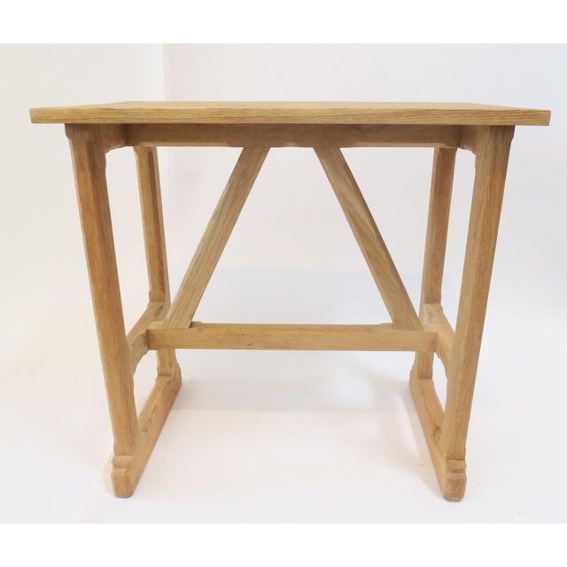 Image of Custom Trestle Wood Table