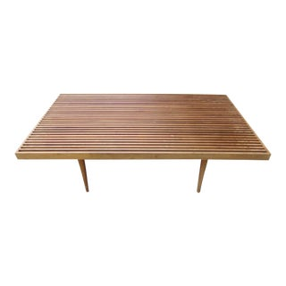 Georges Nelson Style Mid-Century Coffee Table