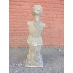 Image of Italian Stone Female Statue