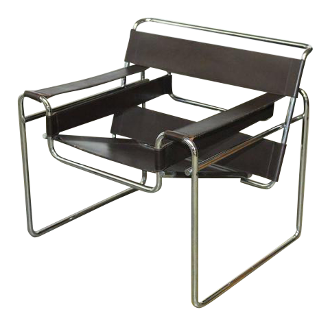 Marcel Breuer Mid Century Wassily Chair For Stendig