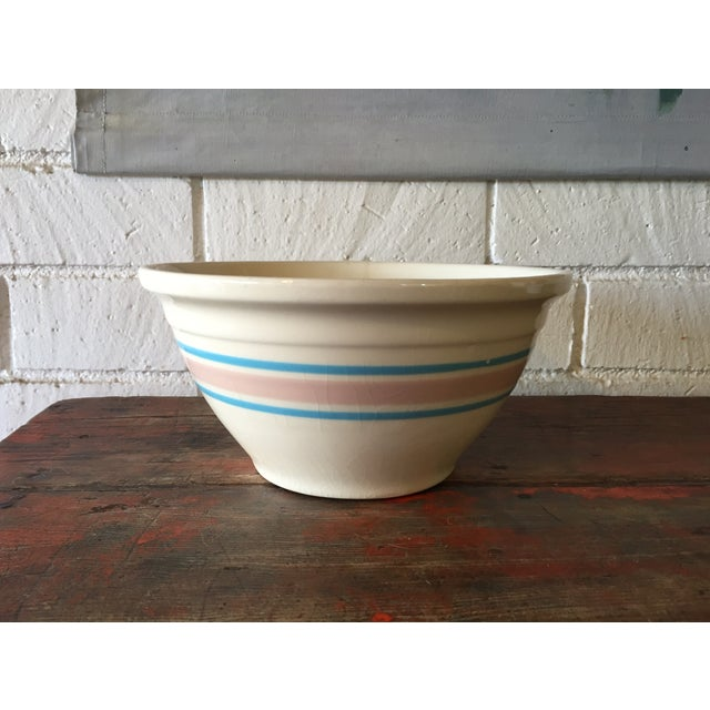 Blue & Pink Striped McCoy Mixing Bowl - Image 2 of 5