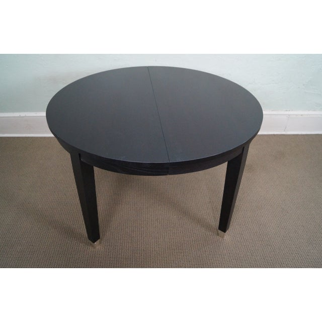 Asher Benjamin Studio Solid Oak Dining Table - Image 3 of 10