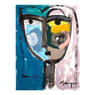 """Lesley Grainger """"Annie"""" Original Face Painting"""