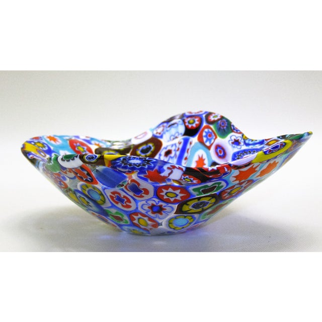 Fratelli Toso Millefiore Mosaic Murano Glass Bowl - Image 7 of 10