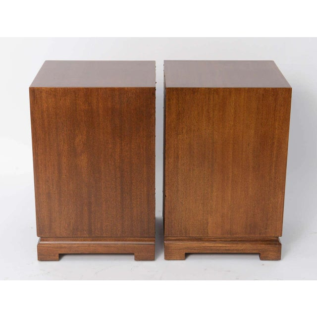 Image of Pair of 1940s Paul Frankl Style Mid Century Modern Night Stands by Red Lion
