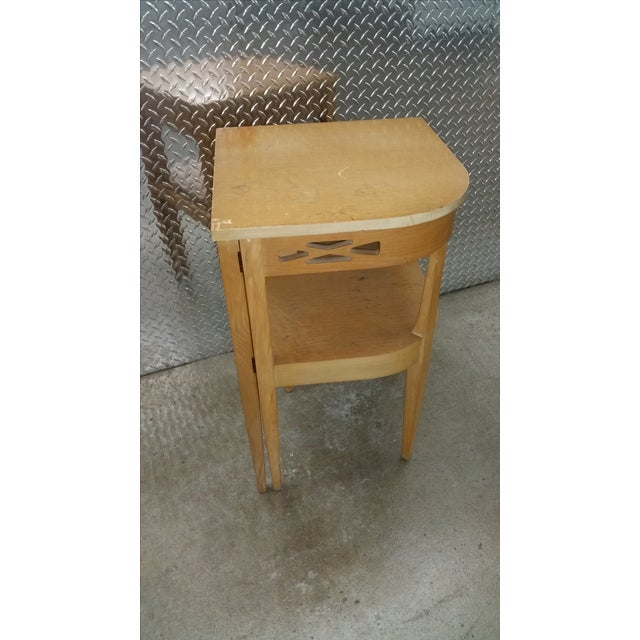 Vintage Superior Swing Out Chair & Telephone Desk - Image 5 of 6