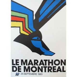 1983 Montreal Marathon Poster, Vittorio