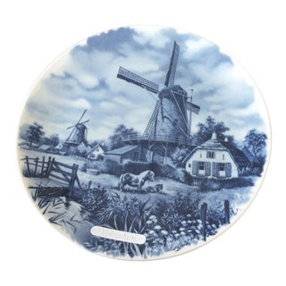 Delft Hand Painted Wall Plate