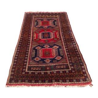 Vintage Anatolian Rug - 4′2″ × 7′5″