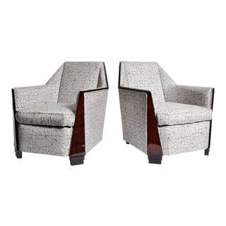 Pair of Mid-Century Style Armchairs