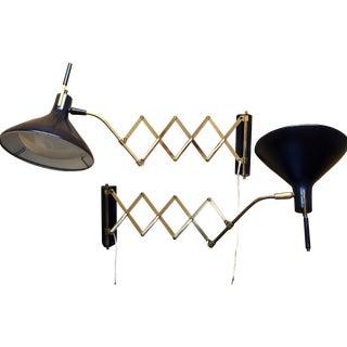 Maurizio Tempestini Scissor Lamps - A Pair