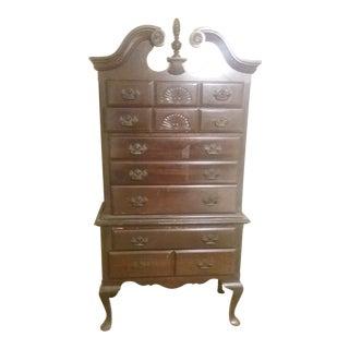 2-Piece Wooden Highboy Dresser