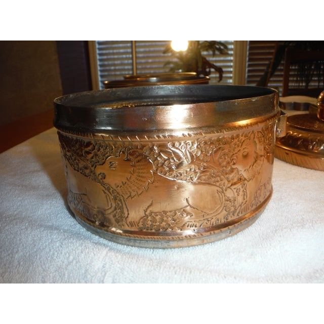 """Vintage Copper Clad """"Tiffin"""" or """"Dabba"""" - Image 9 of 9"""