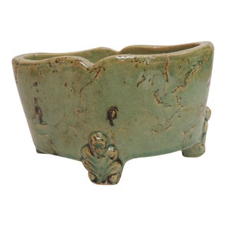 Vintage Chinese Ceramic Planter