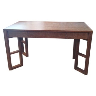 Bungalow 5 Desk in Cerused Oak