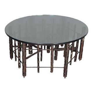 Paul Evans Brutalist Coffee Table