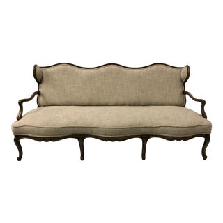 French Style Sofa in Linen by Century