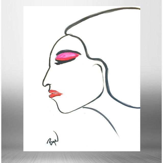 Fashion Illustration by Bryan Boomershine - Image 2 of 4