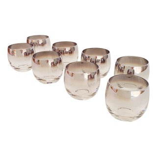 Vintage Silver Ombre Roly Poly Glasses
